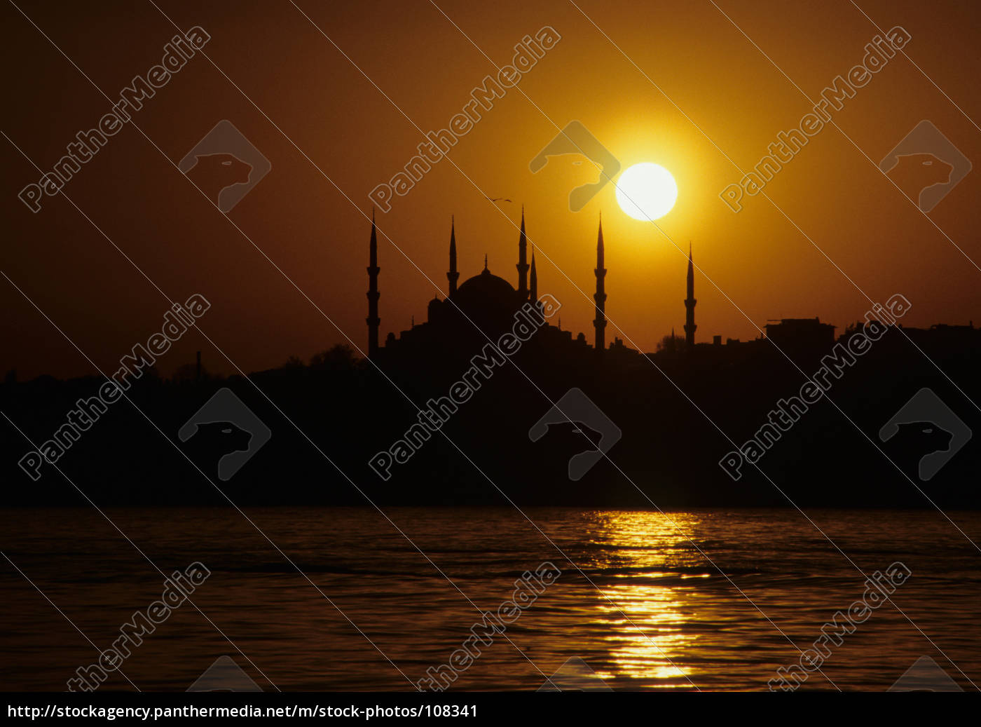 blue, mosque - 108341