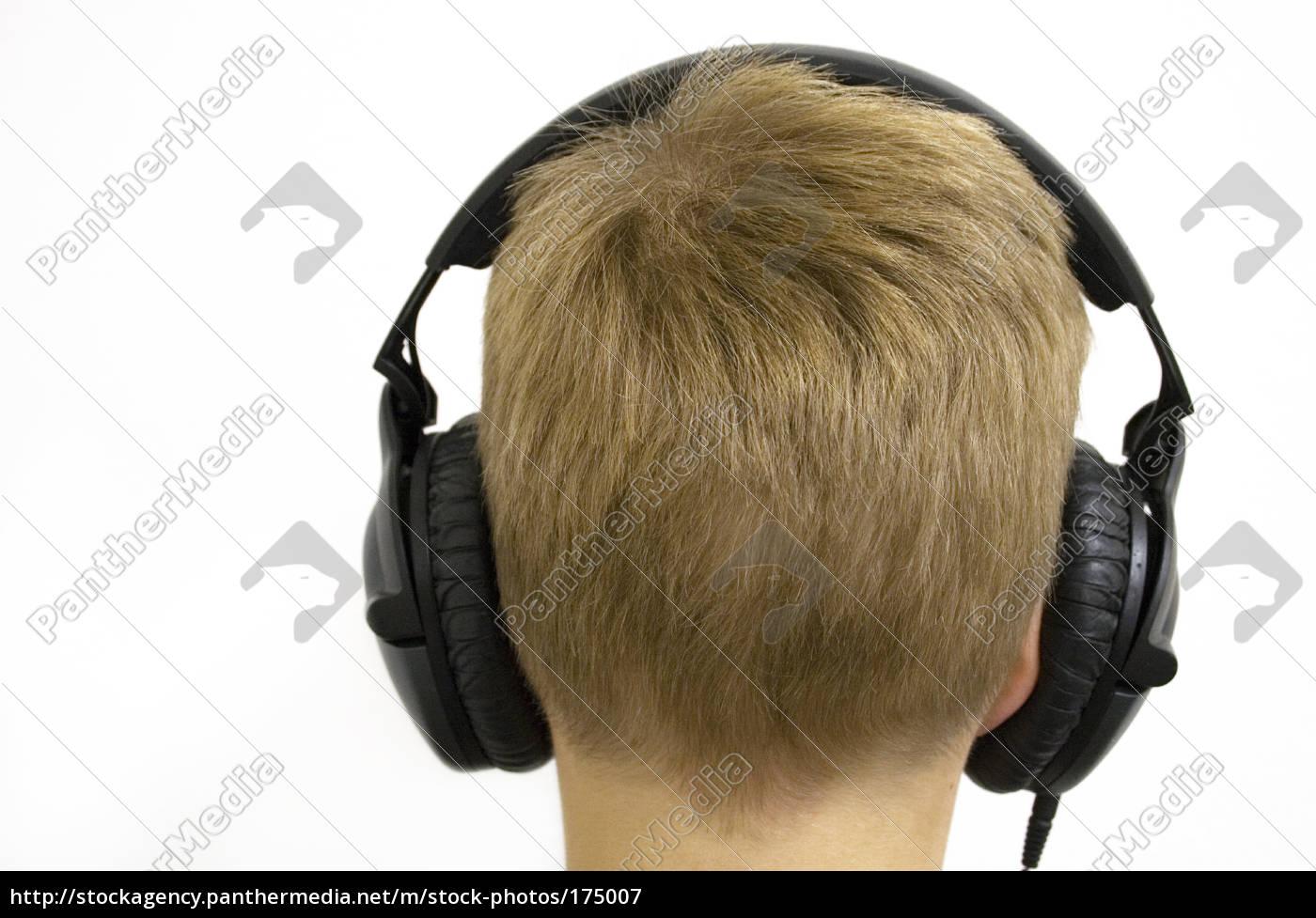 child, with, headphones - 175007