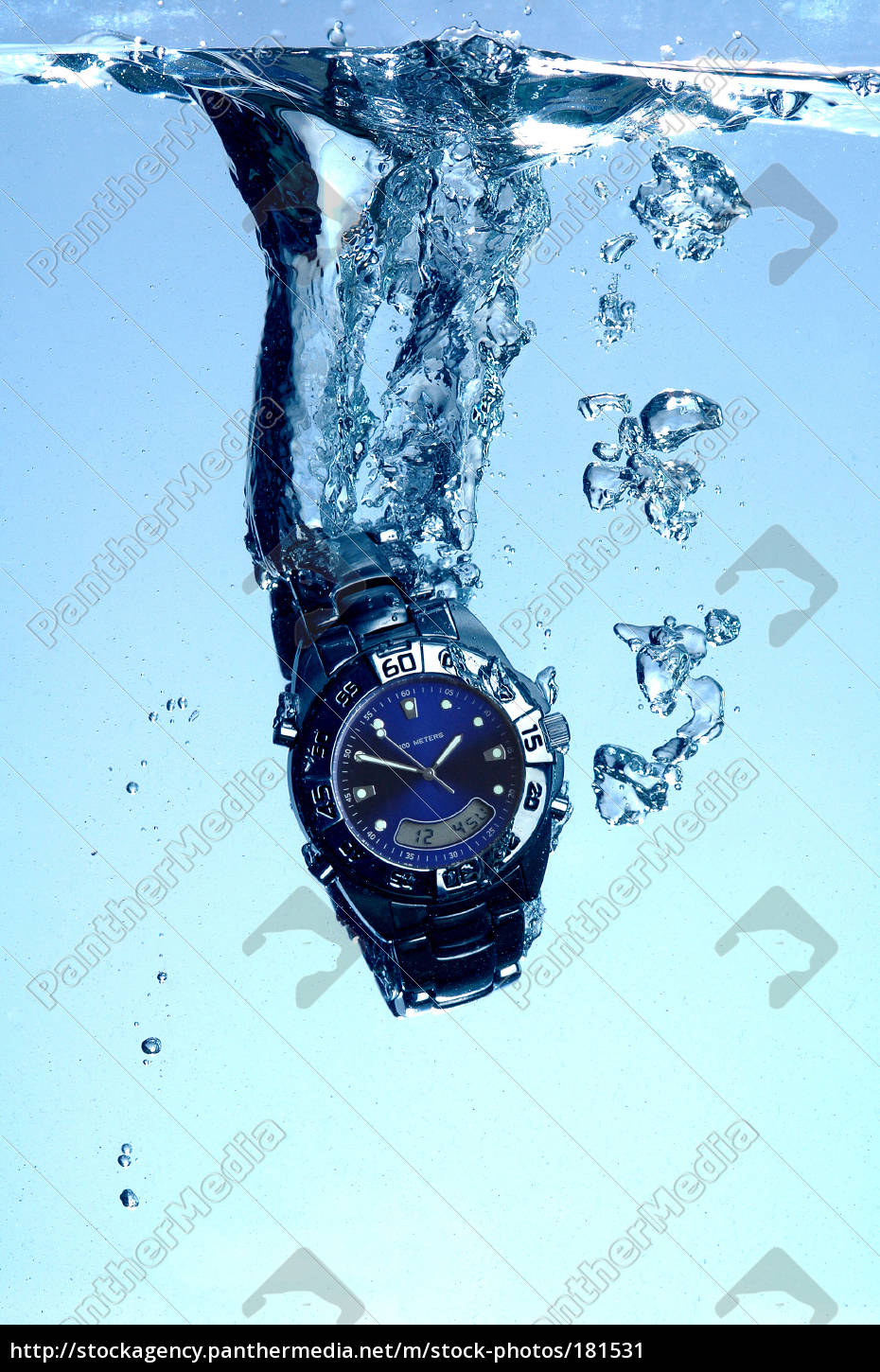 waterproof, watch - 181531
