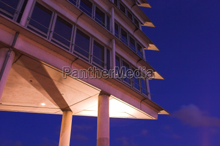 office tower at port of hamburg