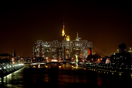 frankfurt, skyline, with, star, filters - 244271
