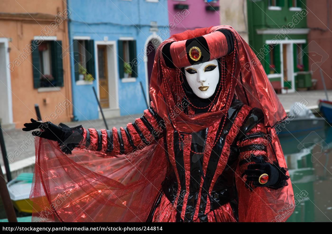 masks, in, venice - 244814