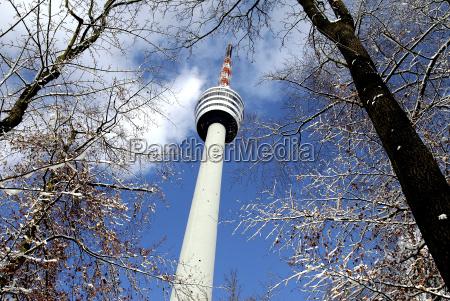 tv, tower, in, winter - 244582