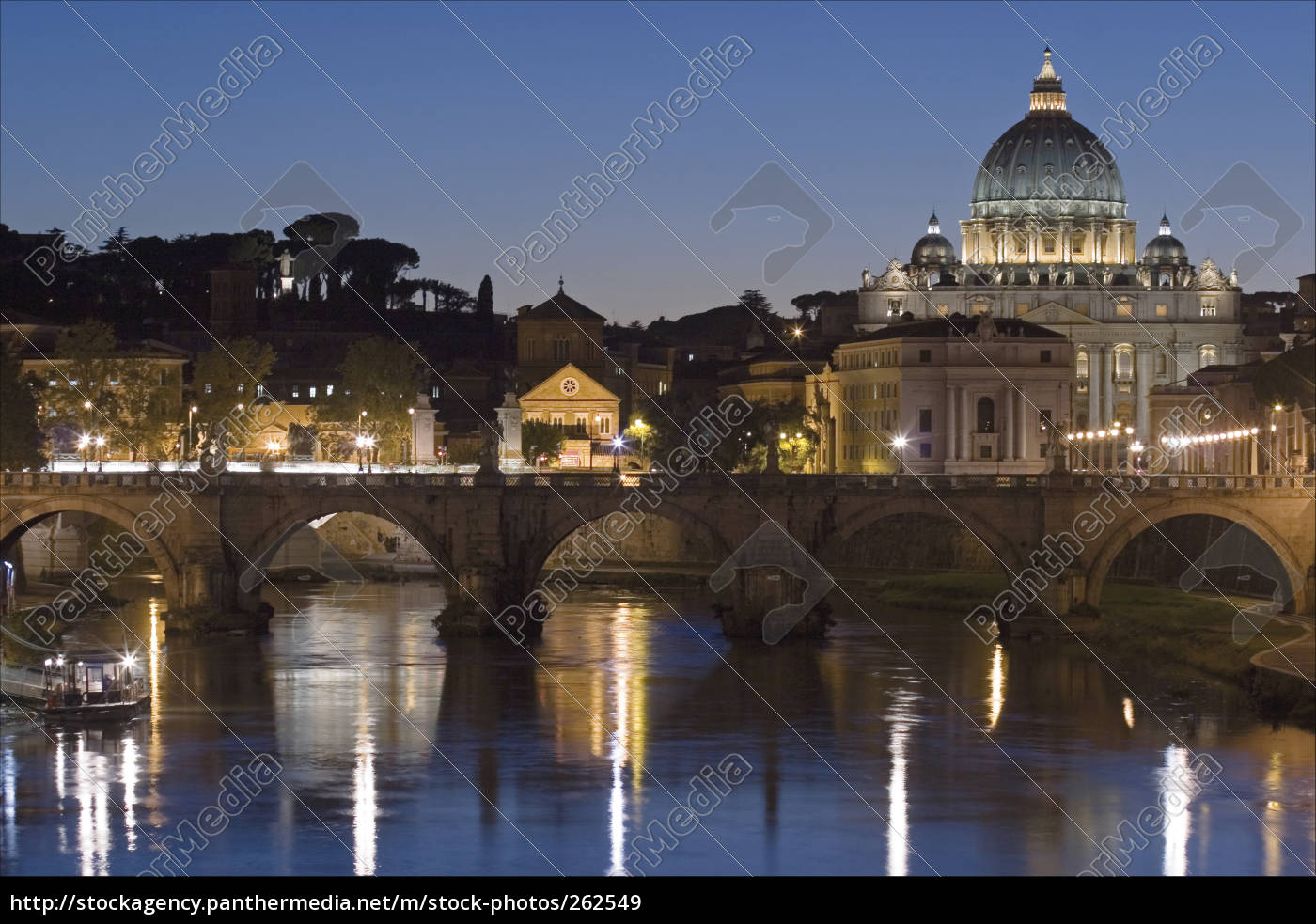 st., peter's, basilica, at, night - 262549