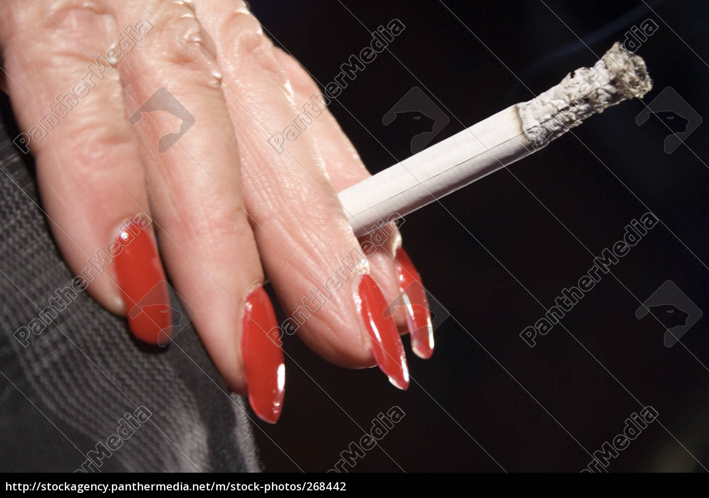 hand, with, cigarette, ii - 268442