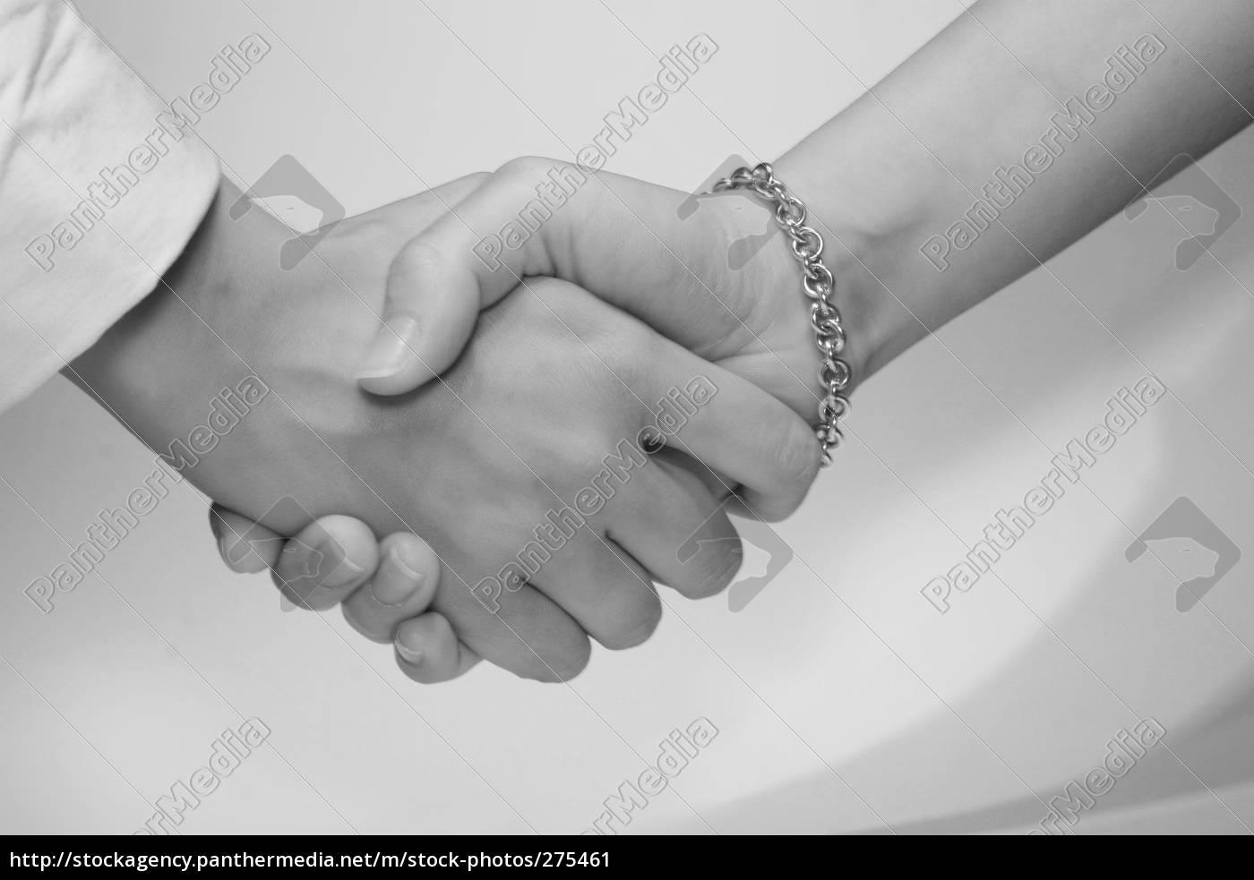 woman, handshake - 275461