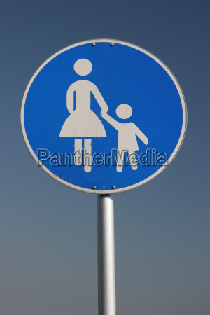pedestrian, sign - 308124