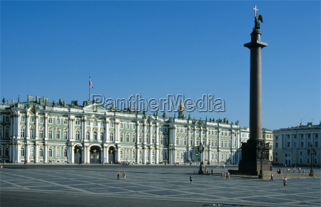 winter, palace, and, alexander, column - 318037