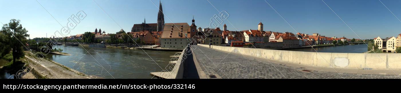 panorama, of, regensburg - 332146