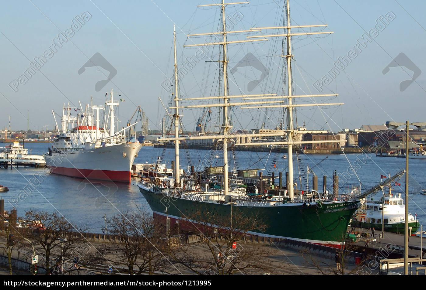 museum, ships, in, hamburg - 1213995