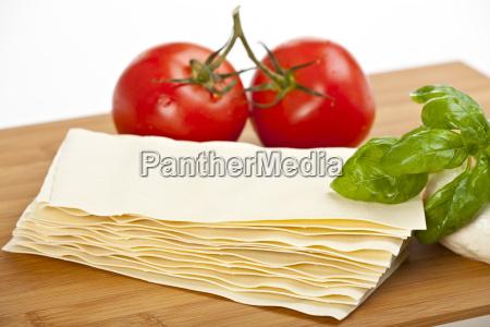 lasagne kochen