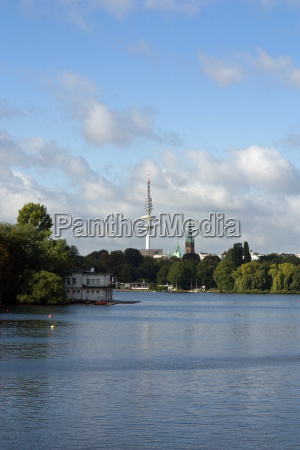 tv, tower, on, the, alster - 2346709