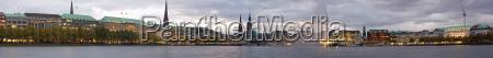hamburg, panorama, 2009 - 2393147
