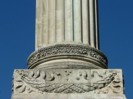 art columns pillar ornament pedestal plinth