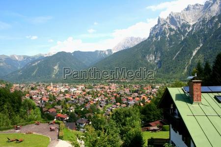 mittenwald valley