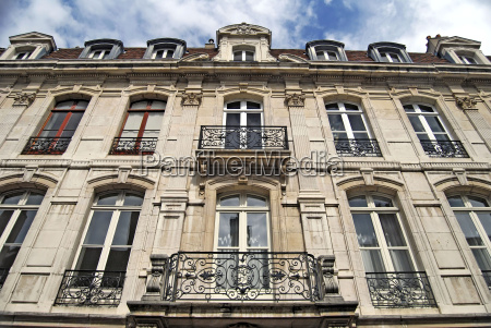 french old building