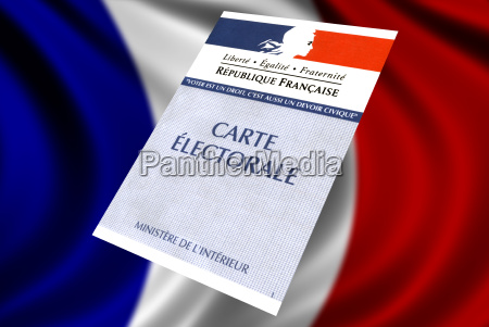french voter card