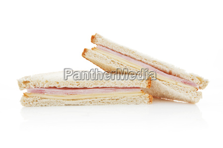 american sandwich isolated