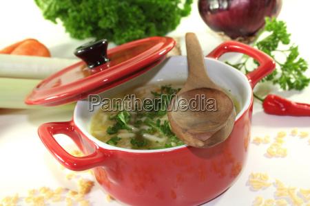 noodles vegetable pot noodle soup letter
