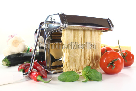 making pasta itself