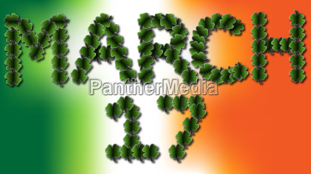 march 17 irish clovers
