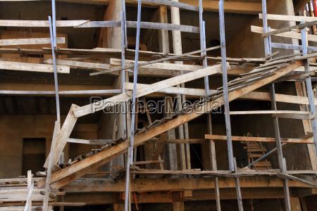 dangerous construction site