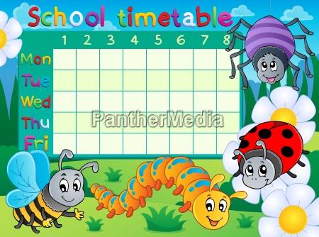 school timetable topic image 6