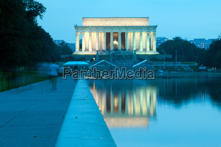 stairs columns usa evening marble pale