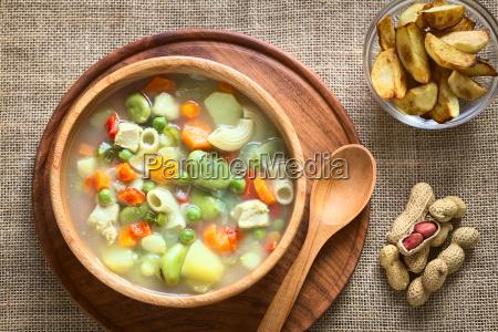 bolivian sopa de mani peanut soup