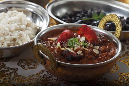 indische huehnchencurry