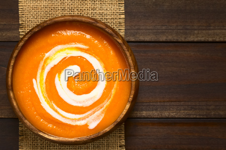 cream of carrot soup