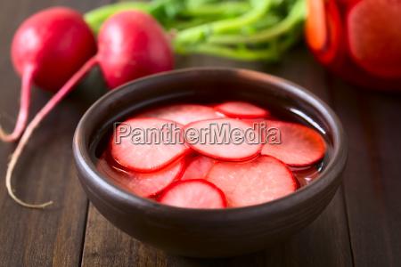 pickled, radishes - 19825533