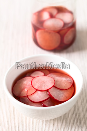 pickled, radishes - 19825571