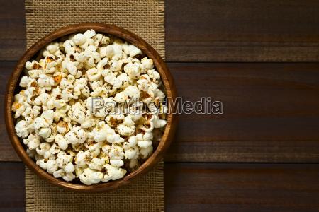 popcorn, with, cheese, , garlic, and, oregano - 19825555