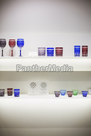 shop selling edo kiriko cut glass