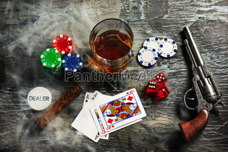 cigar chips for gamblings drink and