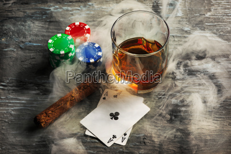 cigar, , chips, for, gamblings, , drink, and - 20225331