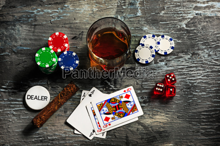cigar, , chips, for, gamblings, , drink, and - 20225359