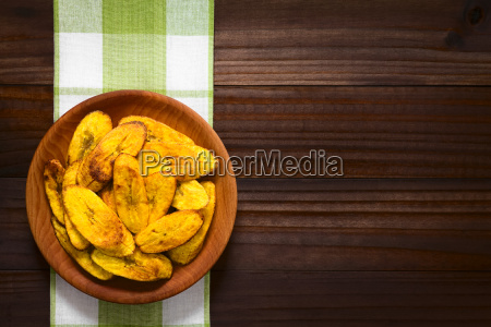 fried ripe plantain slices
