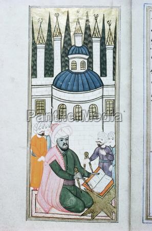 illustrations of drawing instruments topkapi museum