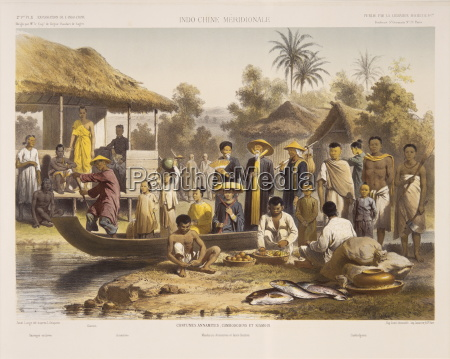people of siam cambodia and annam
