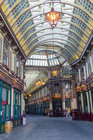 leadenhall market london england united kingdom
