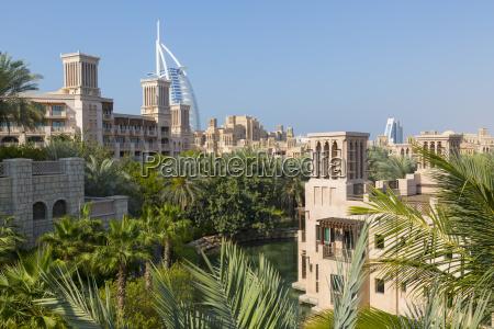 view of burj al arab from