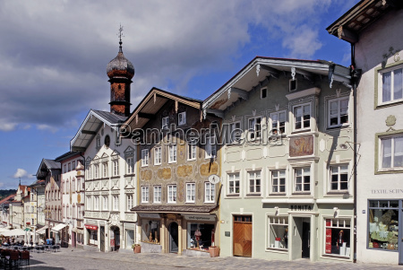 historical houses townscape town hall facade