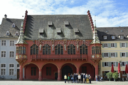 historic department store at muensterplatzfreiburg