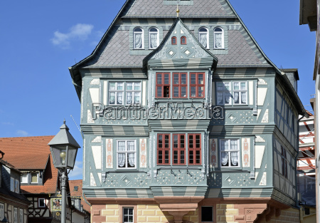 house building historical romantic old town